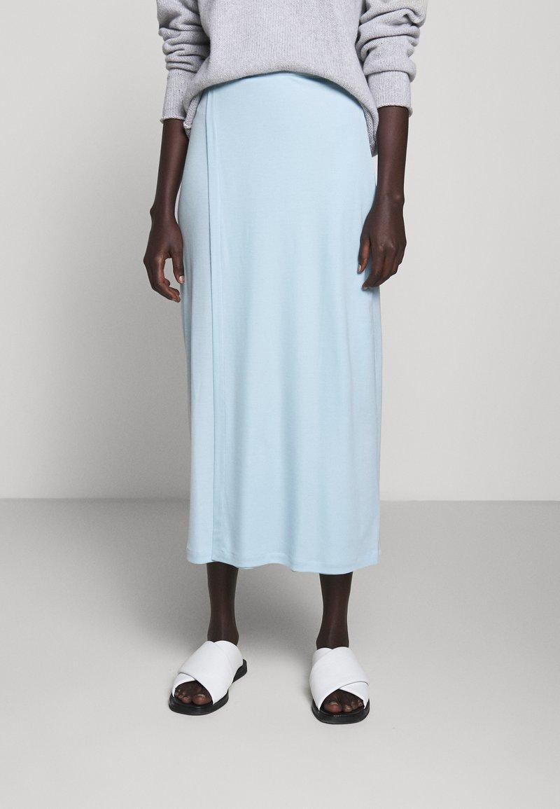 Filippa K - VIOLA SKIRT - Maxi sukně - pale blue