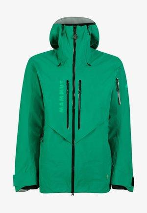 Hardshell jacket - deep emerald
