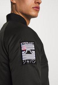Everlast - SENDAI - Sportovní bunda - black - 5