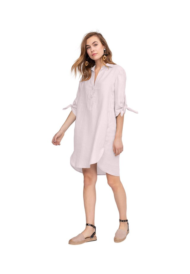 Shirt dress - rose