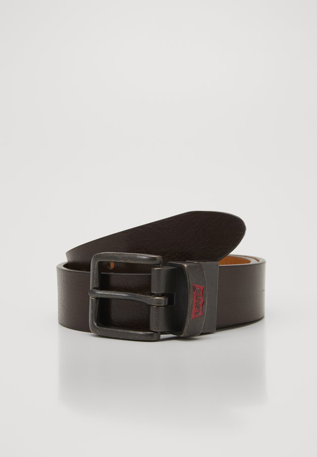 BATWING BUCKLE BELT - Bælter - dark brown