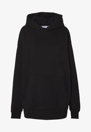 LINDA HOODIE - Bluza z kapturem - black
