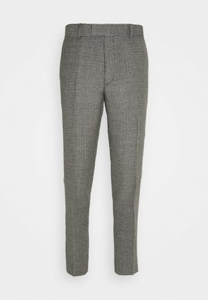 HOUNDSTOOTH - Suit trousers - noir