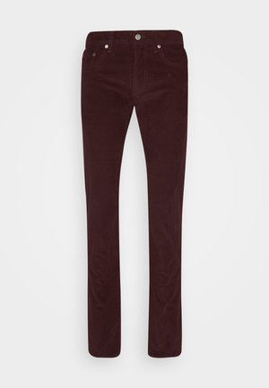 PANTS - Trousers - ripe plum