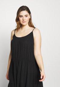 Simply Be - VALUE BEACH DRESSES  2 PACK  - Doplňky na pláž - white/black - 4