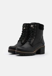 Panama Jack - PHOEBE - Lace-up ankle boots - black - 2