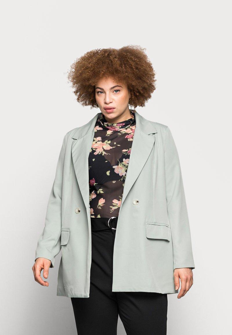 Missguided Plus - LONGLINE - Blazer - mint