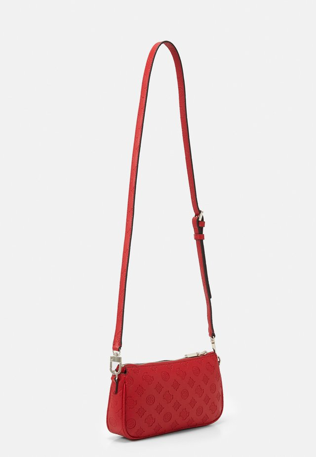 DAYANE DOUBLE POUCH CROSSBODY SET - Kabelka - red