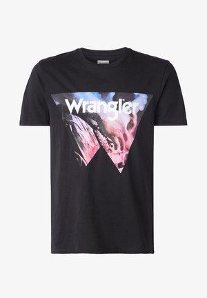 SS COWBOY COOL - Print T-shirt - black