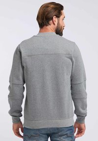 DreiMaster - DREIMASTER - Zip-up hoodie - grey melange - 2