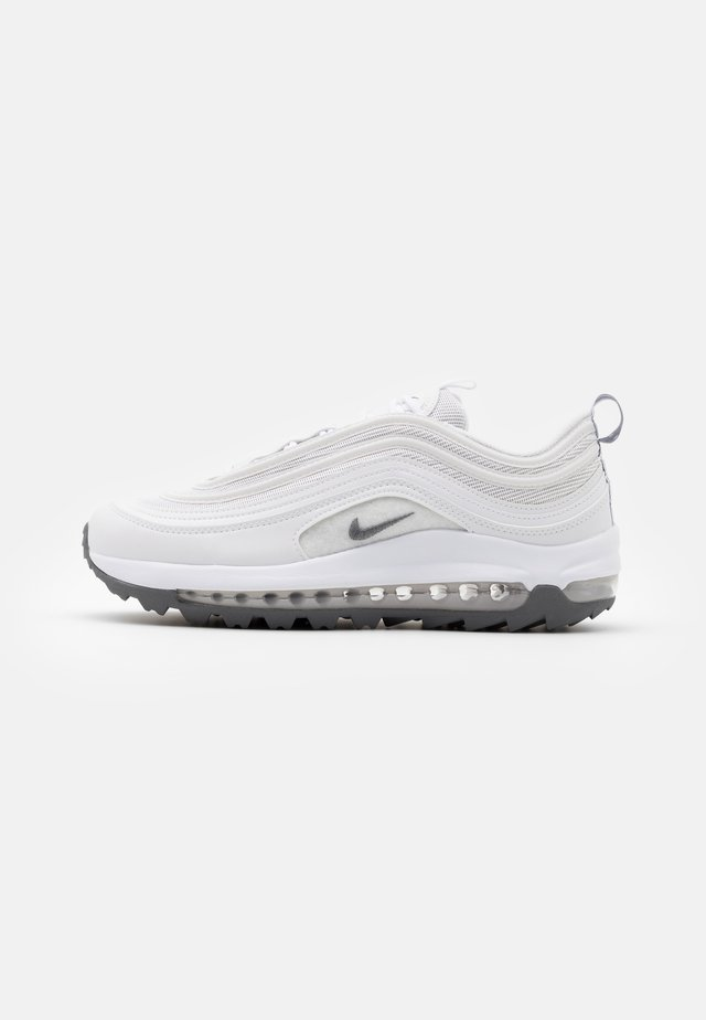 AIR MAX 97  - Golf shoes - white/metallic cool grey