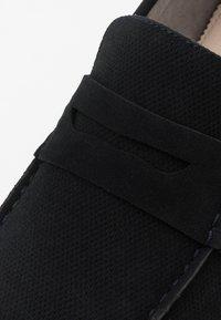 Burton Menswear London - FLETCH LOAFER - Nazouvací boty - navy - 5