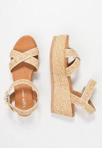 Tata Italia - Platform sandals - beige - 3