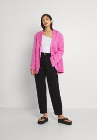 Monki - Short coat - pink - 1