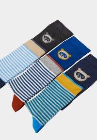 Ewers - BABYSOCKS LITTLE  6 PACK - Ponožky - grau/tinte/aqua - 1