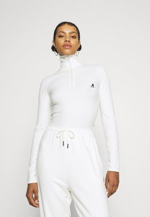 ARIZONA BODY SUIT - Long sleeved top - white
