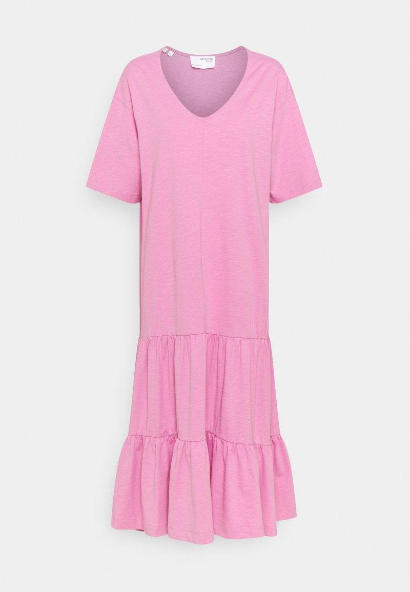 Selected Femme - SLFREED MIDI DRESS - Maxi dress - opera mauve