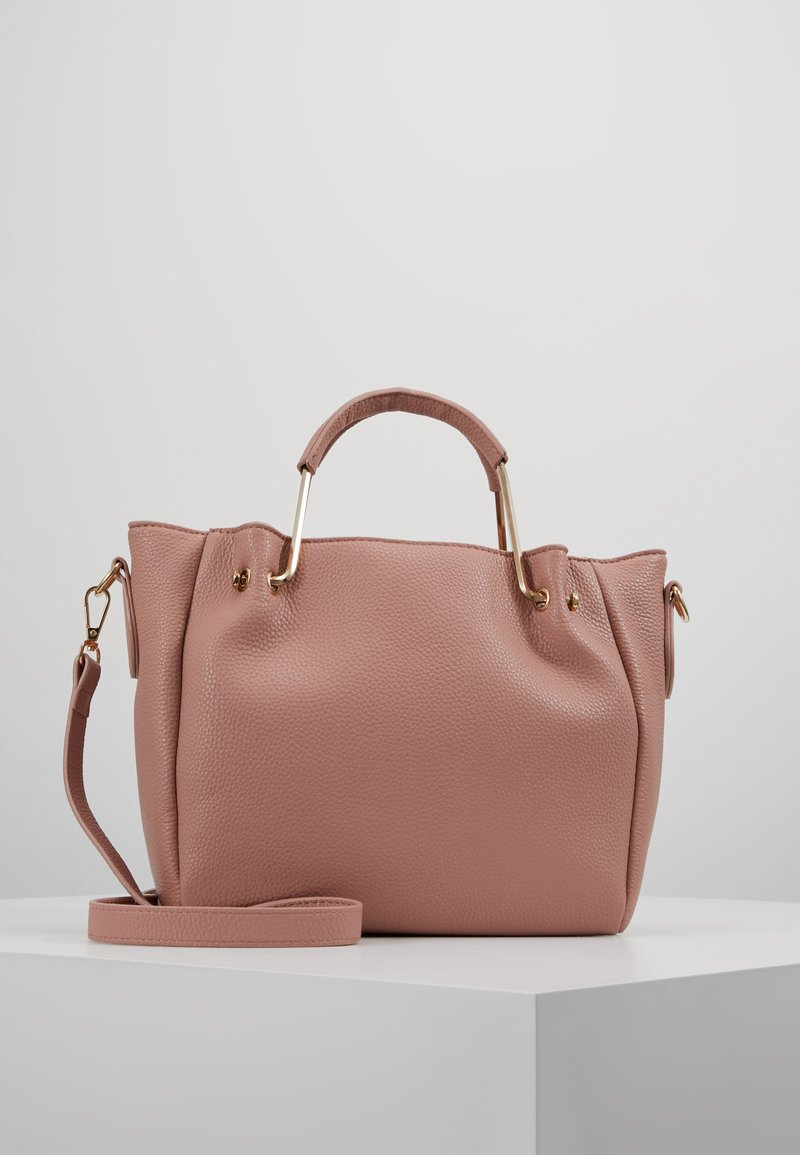 Dorothy Perkins - HANDLE MINI TOTE - Håndtasker - blush