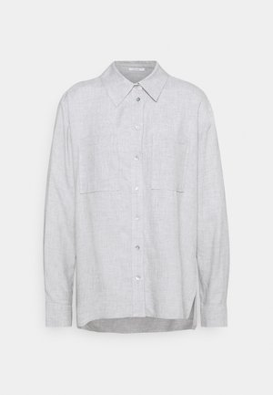 FRILLI - Button-down blouse - hazy fog melange