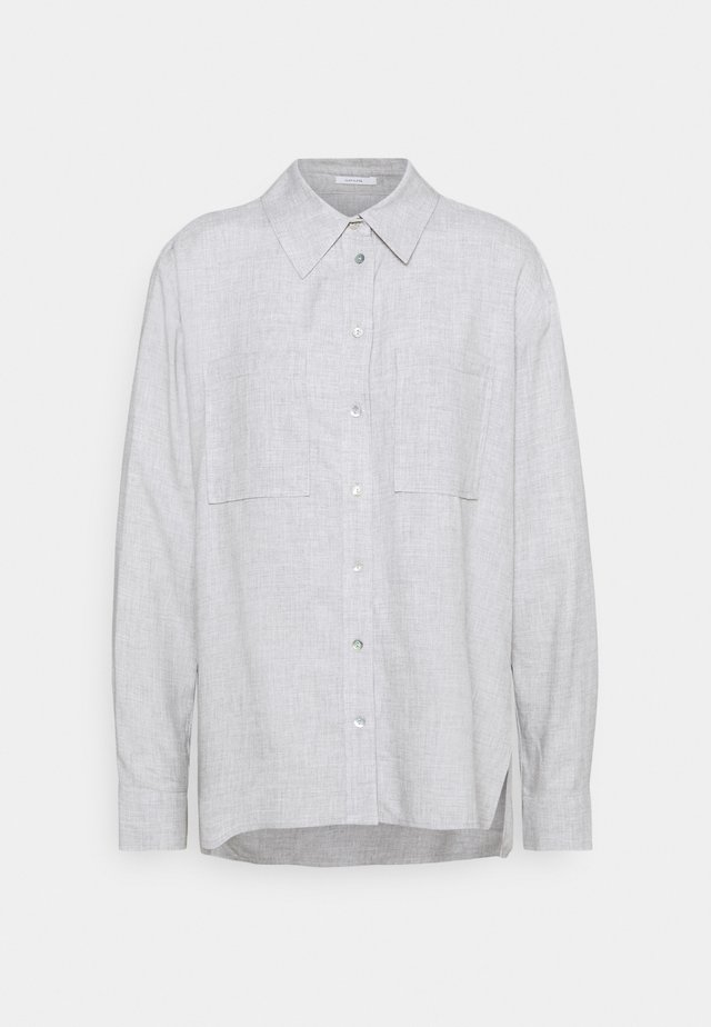 FRILLI - Camisa - hazy fog melange