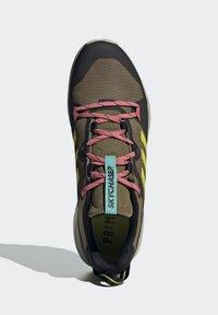 adidas Performance - TERREX SKYCHASER 2 - Hikingsko - wild moss/acid yellow/acid mint - 4