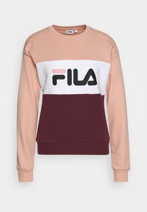 LEAH - Sweatshirts - tawny port/coral cloud/bright white