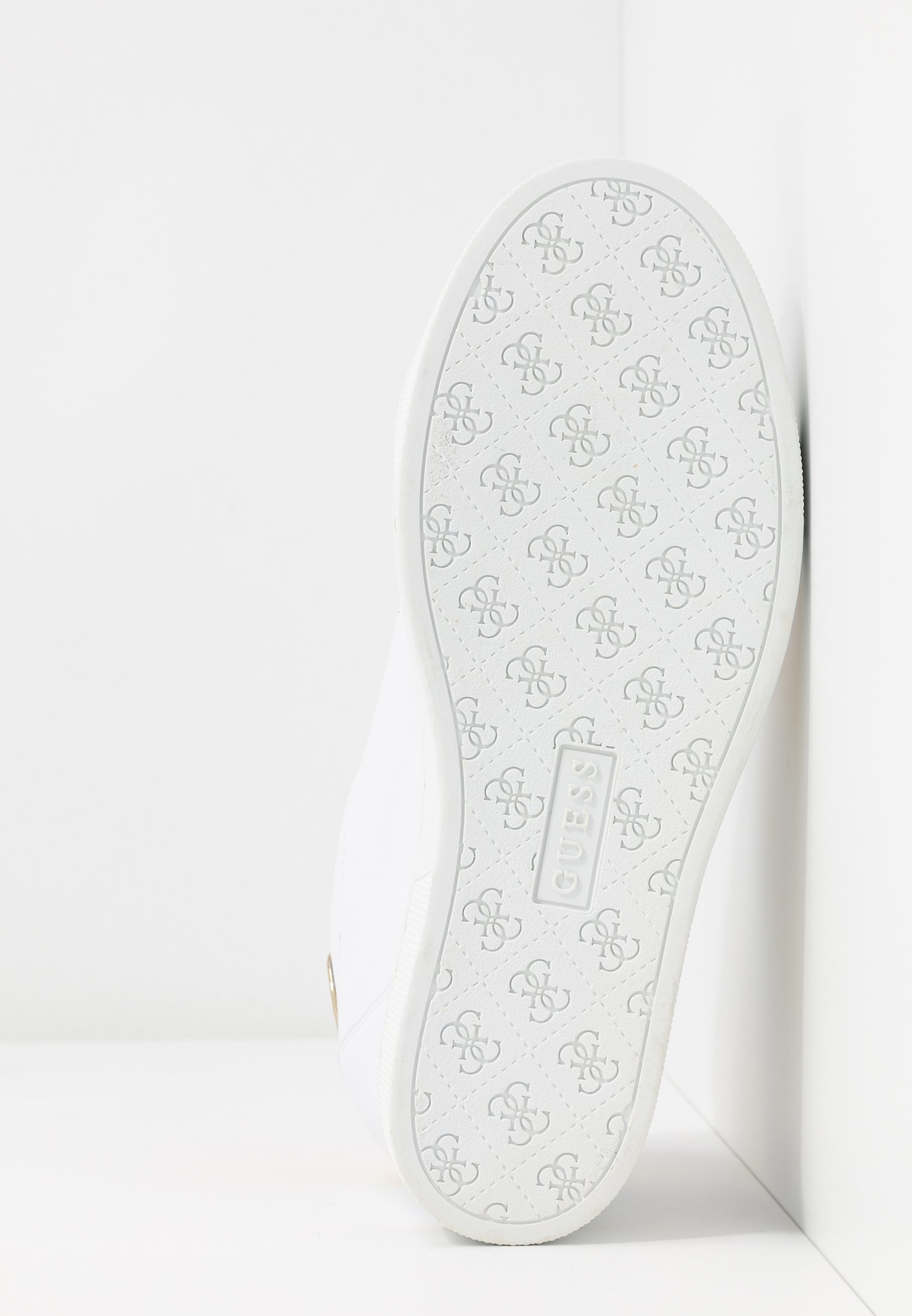 Guess FAYNE Sneaker low white/gold/weiß