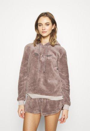 ONLCELIA HOODIE SET - Pyjamas - dark grey