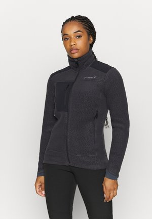 TROLLVEGGEN THERMAL PRO JACKET - Fleece jacket - dark grey