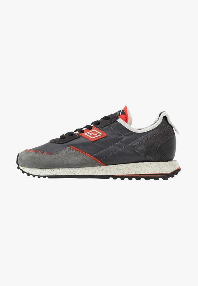 DRUM ROAD - Zapatillas - grey/dark orange