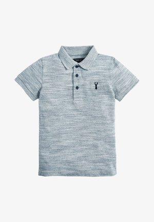BERRY TEXTURED POLO (3-16YRS) - Polotričko - mottled blue