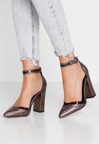 Even&Odd - High heels - gunmetal - 0