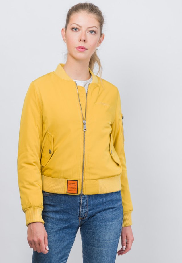 ORIGINAL - Bomber Jacket - mustard yellow