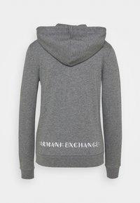 Armani Exchange - Mikina na zip - grey heather - 1