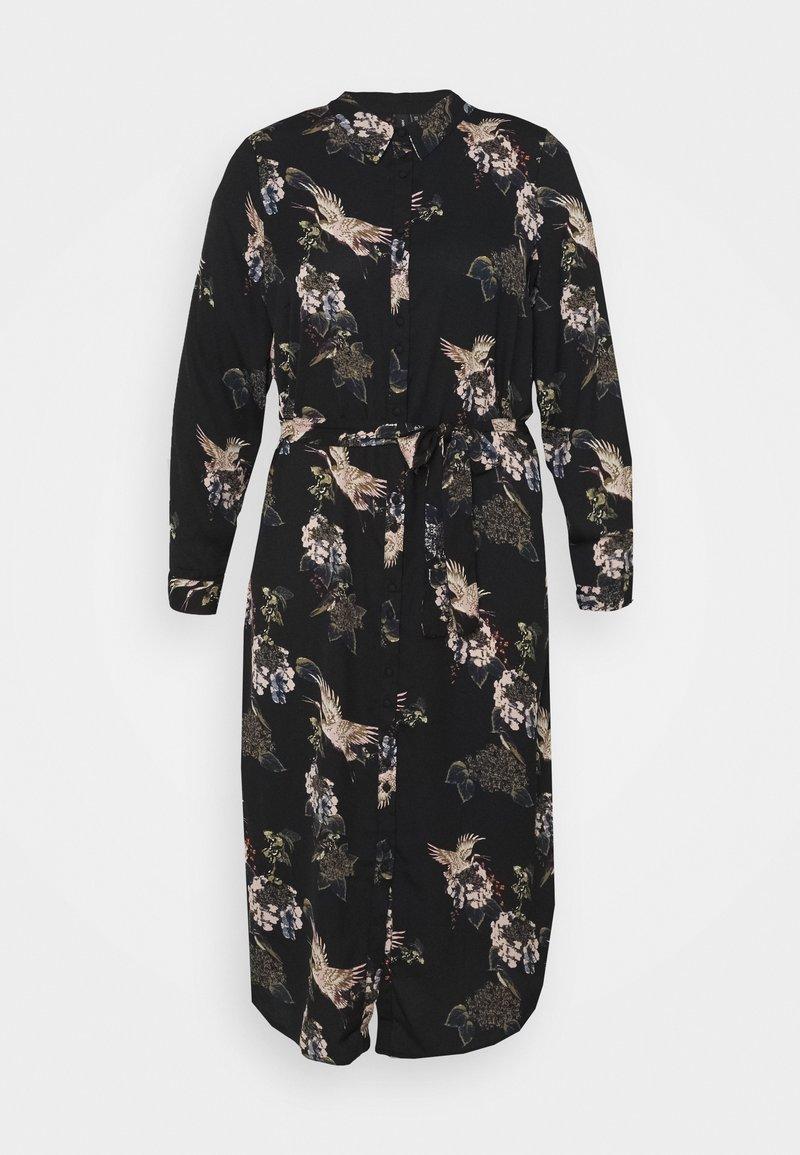 Vero Moda Curve - VMCRANE DRESS  - Day dress - black