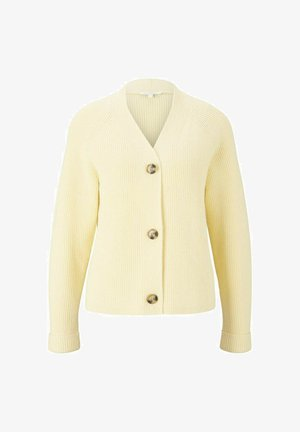 Cardigan - soft yellow