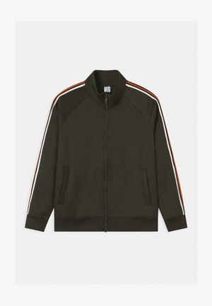STRIPES  - Training jacket - dark khaki