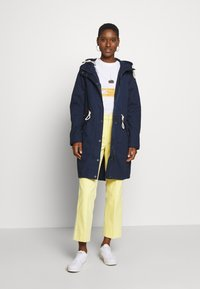 Q/S designed by - MANTEL - Parka - navy - 1