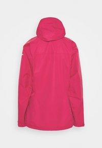 Salewa - AQUA - Hardshell jacket - rose red - 1