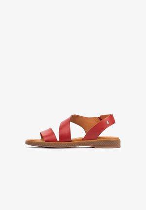 MORAIRA - Sandals - coral