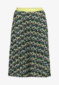 Sheego - A-line skirt - tiefgrün gemustert - 5