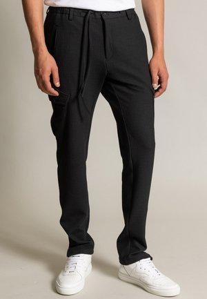 SPARTAKUS - Cargo trousers - schwarz