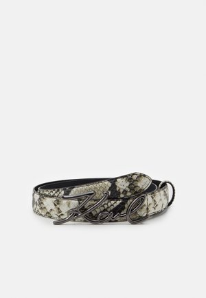 K/SIGNATURE SNAKE BELT - Gürtel - multi