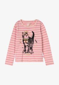 Lemon Beret - SMALL GIRLS  - Langærmede T-shirts - flamingo pink - 2