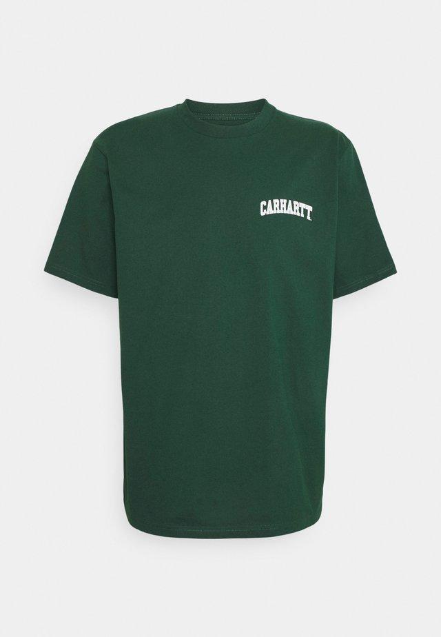 UNIVERSITY SCRIPT - T-shirts med print - treehouse/white