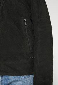 Strellson - OSCO - Leather jacket - black - 4