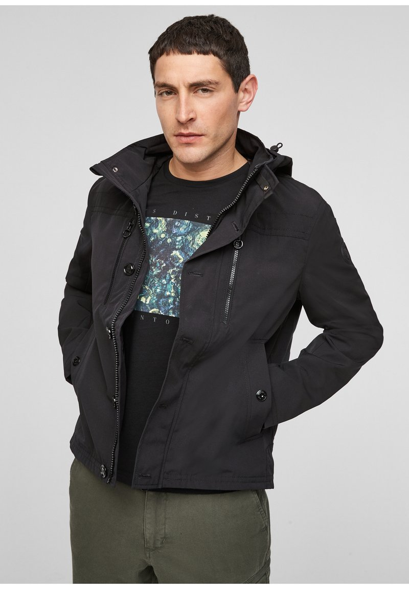 s.Oliver - Summer jacket - black