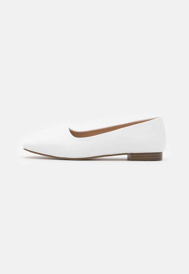 ELWOOD - Ballerinat - white