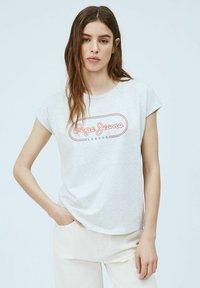 Pepe Jeans - CAROL - Print T-shirt - gris marl - 0