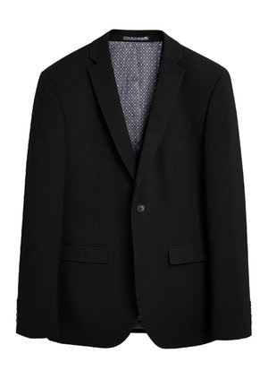 STRETCH TONIC SUIT: JACKET-SLIM FIT - Giacca elegante - black